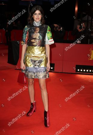 Marie Nasemann arrives for the premiere of 'The Golden Glove' (Der Goldene Handschuh) during the 69th annual Berlin Film Festival, in Berlin, Germany, 09 February 2019. The movie is presented in the Official Competition at the Berlinale that runs from 07 to 17 February.
