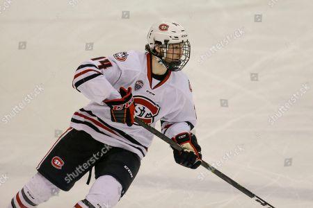 Editorial photo of Colorado College Hockey, St. Cloud, USA - 08 Feb 2019