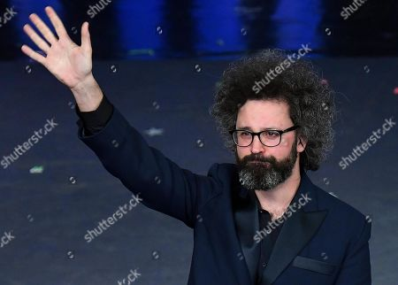 Simone Cristicchi performs on stage at the Ariston theatre during the 69th Sanremo Italian Song Festival, Sanremo, Italy, 09 February 2019. The festival runs from 05 to 09 February.