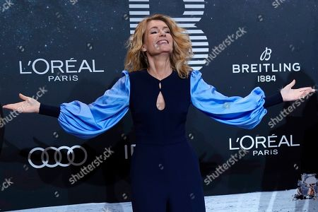 Maria Furtwaengler poses on the 'black carpet' of the 'Place to B' party during the 69th annual Berlin Film Festival, in Berlin, Germany, 09 February 2019. The party of German tabloid newspaper BILD under the motto 'Space Night' took place during the Berlinale that runs from 07 to 17 February 2019.