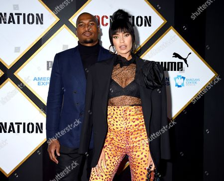 Larry English and Nicole Williams