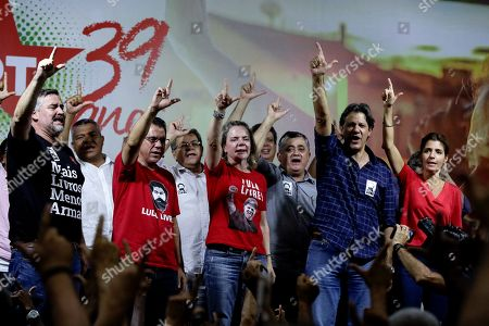 Editorial picture of Brazil's Workers Party celebrates 39 years of existence, Sao Paulo - 09 Feb 2019