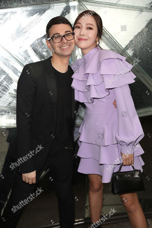 Christian Siriano and Jessica Jung