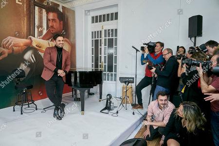 Editorial image of David Bustamante 'Heroes en Tiempos de Guerra' album photocall, Madrid, Spain - 08 Feb 2019