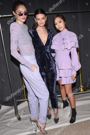 Coco Rocha, Lydia Hearst-Shaw and Jessica Jung