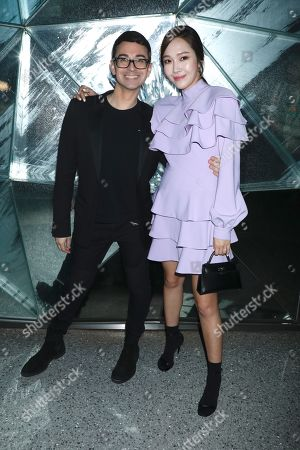 Jessica Jung and Christian Siriano