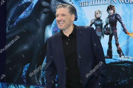 Craig Ferguson arrives for the premiere of 'How To Train Your Dragon: The Hidden World' in Westwood, Los Angeles, California, USA, 09 February 2019. The movie opens in the USA on 22 February 2019.
