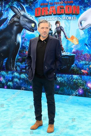 Stock Image of Craig Ferguson arrives for the premiere of 'How To Train Your Dragon: The Hidden World' in Westwood, Los Angeles, California, USA, 09 February 2019. The movie opens in the USA on 22 February 2019.
