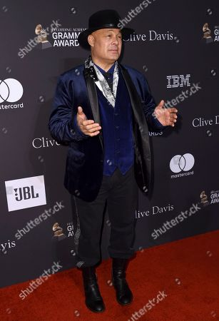 Narada Michael Walden arrives at Pre-Grammy Gala And Salute To Industry Icons at the Beverly Hilton Hotel, in Beverly Hills, Calif