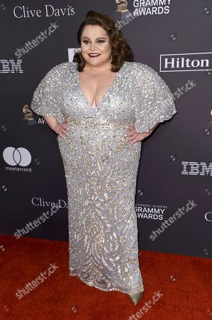 Keala Settle arrives at the Pre-Grammy Gala And Salute To Industry Icons at the Beverly Hilton Hotel, in Beverly Hills, Calif