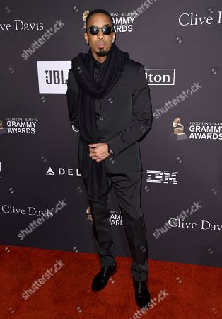 Dallas Austin arrives at the Pre-Grammy Gala And Salute To Industry Icons at the Beverly Hilton Hotel, in Beverly Hills, Calif