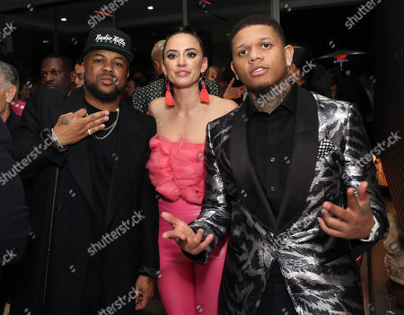 Editorial picture of L.A. Reid and HITCO Entertainment Pre-Grammy Awards celebration, Los Angeles, USA - 09 Feb 2019