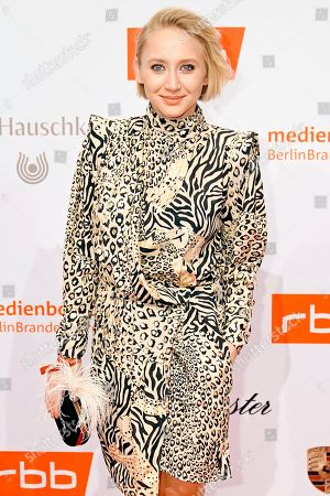 Anna Maria Muehe arrives on the red carpet of the reception of the Medienboard Berlin-Brandenburg (MBB) during the 69th annual Berlin Film Festival, in Berlin, Germany, 09 February 2019 (issued 10 February 2019). The Berlinale runs from 07 to 17 February 2019.