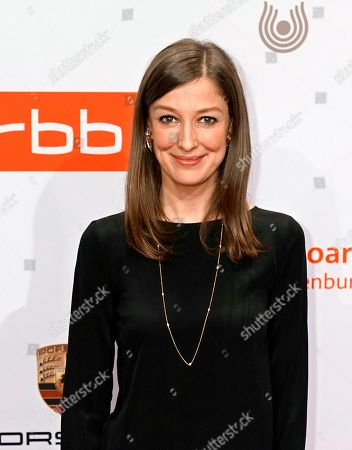 Alexandra Maria Lara arrives on the red carpet of the reception of the Medienboard Berlin-Brandenburg (MBB) during the 69th annual Berlin Film Festival, in Berlin, Germany, 09 February 2019 (issued 10 February 2019). The Berlinale runs from 07 to 17 February 2019.
