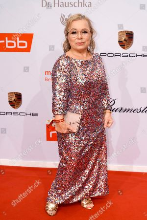 Christine Urspruch arrives on the red carpet of the reception of the Medienboard Berlin-Brandenburg (MBB) during the 69th annual Berlin Film Festival, in Berlin, Germany, 09 February 2019 (issued 10 February 2019). The Berlinale runs from 07 to 17 February 2019.