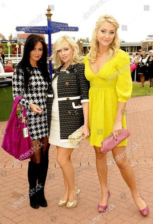 Jennifer Metcalfe, Gemma Merna and Melissa Walton.