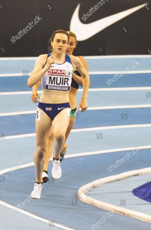 Laura Muir and Melissa Courtney