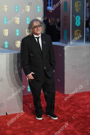 US film editor Hank Corwin attends the 72nd annual British Academy Film Awards at the Royal Albert Hall in London, Britain, 10 February 2019. The ceremony is hosted by the British Academy of Film and Television Arts (BAFTA).