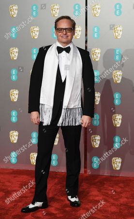 Jon S. Baird attends the 72nd annual British Academy Film Awards at the Royal Albert Hall in London, Britain, 10 February 2019. The ceremony is hosted by the British Academy of Film and Television Arts (BAFTA).