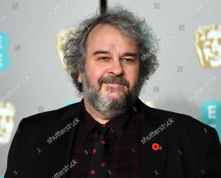 Peter Jackson attends the 72nd annual British Academy Film Awards at the Royal Albert Hall in London, Britain, 10 February 2019. The ceremony is hosted by the British Academy of Film and Television Arts (BAFTA).