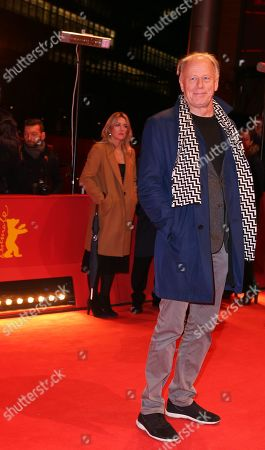 Stock Picture of German politician Juergen Trittin arrive for the premiere of 'The Operative' (Die Agentin) during the 69th annual Berlin Film Festival, in Berlin, Germany, 10X February 2019. The movie is presented in the Official Competition at the Berlinale that runs from 07 to 17 February.