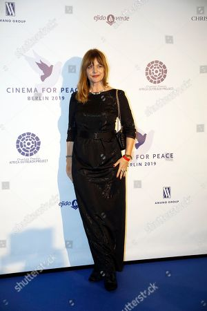 Nastassja Kinski attends the Cinema For Peace event during the 69th annual Berlin Film Festival, in Berlin, Germany, 10 February 2019. Berlinale runs from 07 to 17 February.