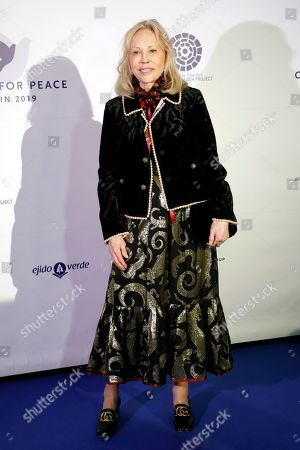 Faye Dunaway attends the Cinema For Peace event during the 69th annual Berlin Film Festival, in Berlin, Germany, 10 February 2019. Berlinale runs from 07 to 17 February.