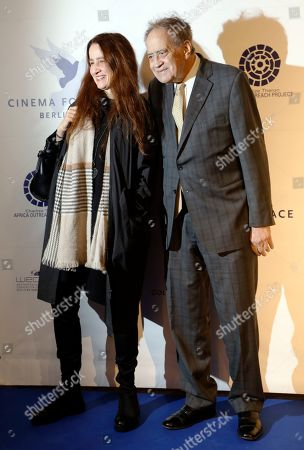 Arthur Cohn and his daughter attend the Cinema For Peace event during the 69th annual Berlin Film Festival, in Berlin, Germany, 10 February 2019. Berlinale runs from 07 to 17 February.