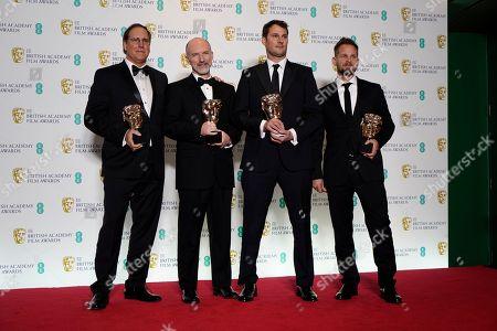 Editorial photo of Press Room - 2019 EE British Academy Film Awards, London, United Kingdom - 10 Feb 2019