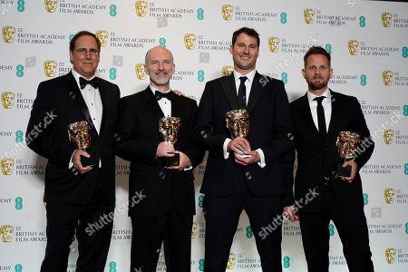Editorial image of Press Room - 2019 EE British Academy Film Awards, London, United Kingdom - 10 Feb 2019