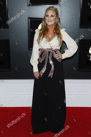 Lee Ann Womack arrives for the 61st annual Grammy Awards ceremony at the Staples Center in Los Angeles, California, USA, 10 February 2019.