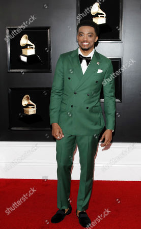 Jonathan McReynolds arrives for the 61st annual Grammy Awards ceremony at the Staples Center in Los Angeles, California, USA, 10 February 2019.