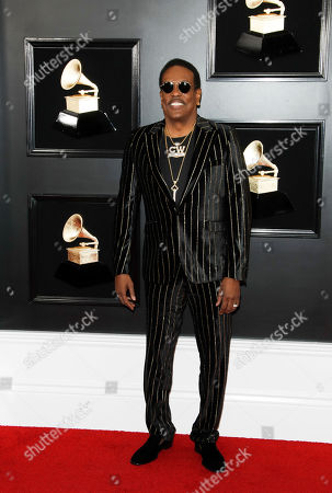 Charlie Wilson arrives for the 61st annual Grammy Awards ceremony at the Staples Center in Los Angeles, California, USA, 10 February 2019.