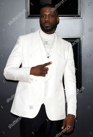 Jay Rock arrives for the 61st annual Grammy Awards ceremony at the Staples Center in Los Angeles, California, USA, 10 February 2019.
