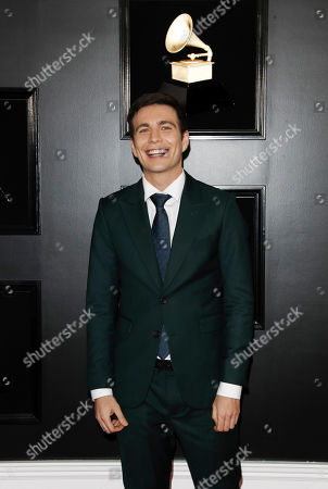Tim Kubart arrives for the 61st annual Grammy Awards ceremony at the Staples Center in Los Angeles, California, USA, 10 February 2019.