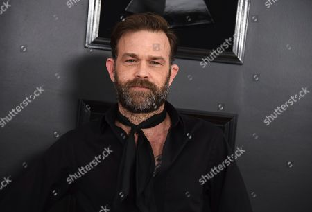 Waylon Payne arrives at the 61st annual Grammy Awards at the Staples Center, in Los Angeles