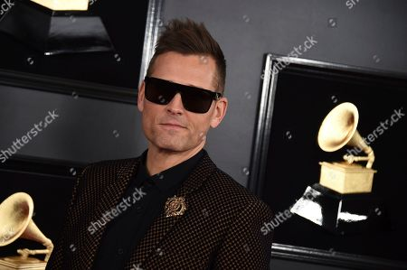 Kaskade arrives at the 61st annual Grammy Awards at the Staples Center, in Los Angeles