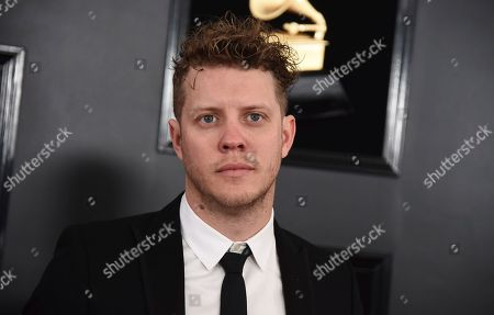 Anderson East arrives at the 61st annual Grammy Awards at the Staples Center, in Los Angeles