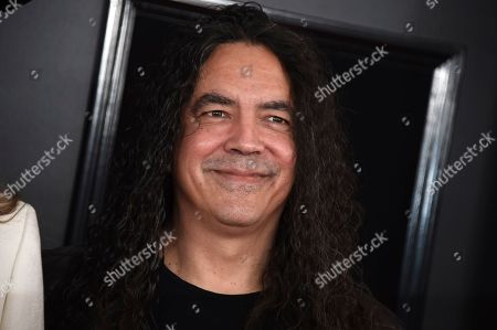 Mike Inez of Alice in Chains arrives at the 61st annual Grammy Awards at the Staples Center, in Los Angeles