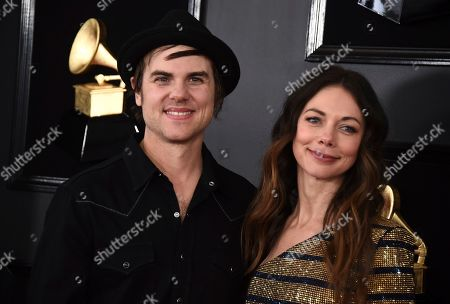 Ross Copperman, Katlin Copperman. Ross Copperman, left, and Katlin Copperman arrive at the 61st annual Grammy Awards at the Staples Center, in Los Angeles