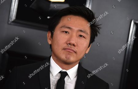 Hiro Murai arrives at the 61st annual Grammy Awards at the Staples Center, in Los Angeles