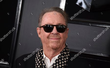 Boz Scaggs arrives at the 61st annual Grammy Awards at the Staples Center, in Los Angeles