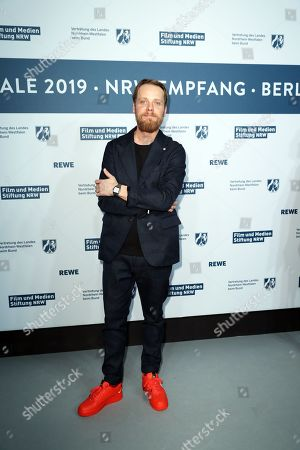 Stock Picture of Stefan Konarske attends the North Rhine-Westphalia Film and Media Foundation Party during the 69th annual Berlin Film Festival, in Berlin, Germany, 10 February 2019. The Berlinale runs from 07 to 17 February.