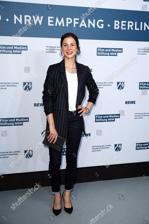 Aylin Tezel attends the North Rhine-Westphalia Film and Media Foundation Party during the 69th annual Berlin Film Festival, in Berlin, Germany, 10 February 2019. The Berlinale runs from 07 to 17 February.