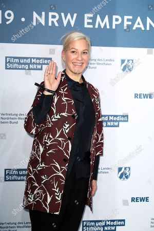 Stock Photo of Franka Potente attends the North Rhine-Westphalia Film and Media Foundation Party during the 69th annual Berlin Film Festival, in Berlin, Germany, 10 February 2019. The Berlinale runs from 07 to 17 February.