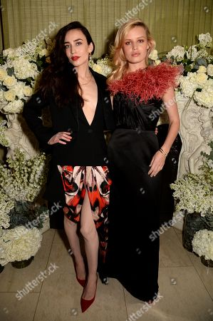 Elizabeth Jagger and Georgia May Jagger