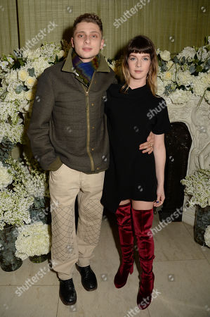 Editorial image of British Vogue Fashion and Film BAFTA party, Annabel's, London, UK - 10 Feb 2019