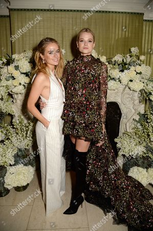 Cressida Bonas and Gabriella Wilde