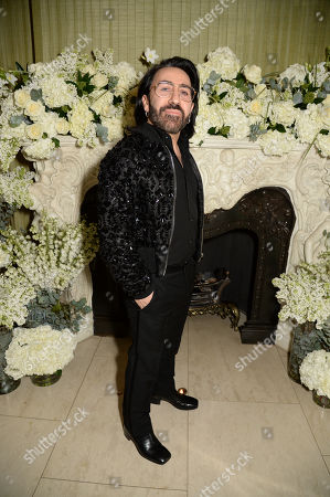 Editorial photo of British Vogue Fashion and Film BAFTA party, Annabel's, London, UK - 10 Feb 2019