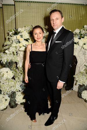 Stock Photo of Eugenie Kamasa and Zygi Kamasa